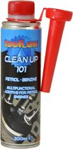 Tecflow Clean Up 101 Benzine - onderhoud injector, zuiger, kleppen, turbo, brandstof systeem reiniger