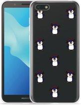 Huawei Y5 2018 Hoesje Chillin like a penguin
