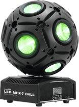 Eurolite MFX-7 Discostroboscoop Zwart Geschikt voor gebruik binnen