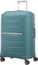 Samsonite Reiskoffer - Flux Spinner 68/25 Uitbreidbaar (Medium) Arctic Blue
