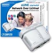 Eminent EM8013 xLINE starter kit - Network over mains 85Mbit/s netwerkkaart & -adapter