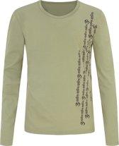 "Yoga-Langarm-Shirt ""Orest"", eucalyptus XL Loungewear shirt YOGISTAR"