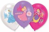 Disney Prinsessen Ballonnen 28cm 6 stuks