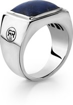 Rebel&Rose ring - Square Lapis M (63) - Silver