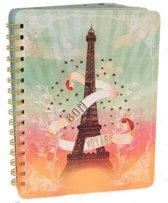 Journal Eiffel Tower Parijs-Notitieboek
