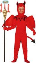 Halloween - Duivel kostuum voor kinderen 110-116 (5-6 jaar)