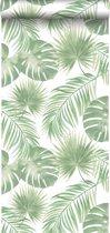 ESTAhome behang tropische bladeren mintgroen