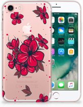 iPhone 7 | 8 Siliconen Case Blossom Red