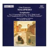 Malipiero: Symphonies 5, 6, 8 & 11 / Almeida, Moscow SO