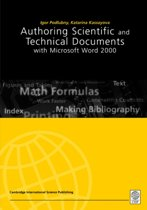 Authoring Scientific and Technical Documents in Microsoft Word 2000