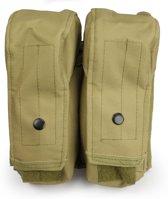 101Inc Molle pouch utility big A khaki