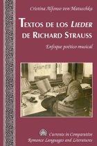 Textos de los 'Lieder' de Richard Strauss