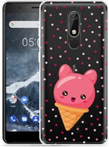 Nokia 5.1 Hoesje Ice cone