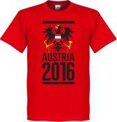 Oostenrijk Adelaar T-Shirt 2016 - S