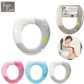 wc bril verkleiner toilettrainer TOM&ZOE softfoam - Grijs
