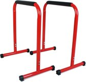 SportPlus SP-LE-002-R - Powercore Trainer Pushup Stand Bars, max gebruikersgewicht 120kg - Rood