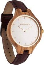 De officiële WoodWatch   Nordic Sun Hickory   Houten horloge dames