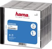 Hama 044746 Jewel CD Box - 10 Pak / Transparant