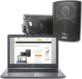 HIFI PC SPEAKERS VOOR DESKTOP OF LAPTOP - 100W ZWART