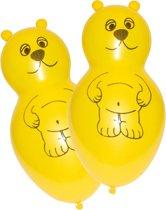 4 Latex Balloons Bear Shapes
