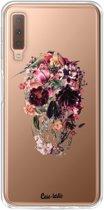 Casetastic Softcover Samsung Galaxy A7 (2018) - Transparent Skull