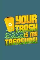 Your Trash Is My Treasure!: Notebook Journal for Dumpster Divers