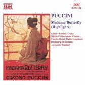 Puccini: Madama Butterfly Highlights / Rahbari, et al