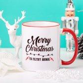 Mok Merry Christmas Ya Filthy Animal