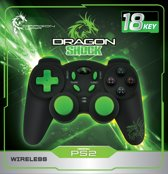 Dragon Shock Wireless Controller PS2