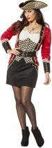 Piraat dame jurk voor dame