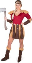 Viking strijder kostuum voor vrouwen - Verkleedkleding - Maat L