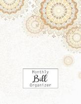 Monthly Bill Organizer: Bill Payment Checklist and Bill Payments Tracker Organizer Planner Log Book Money Debt Keeper Family Budgeting Financi