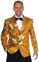 Luxe gouden colbert 60-62 (xl)