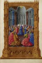 Pentecost by the Limbourg Brothers