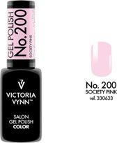 Gellak Victoria Vynn™ Gel Nagellak - Salon Gel Polish Color 200 - 8 ml. - Society Pink