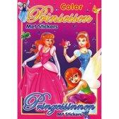 Color prinsesssen - met stickers