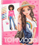 TOPModel Create your drawing kleurboek