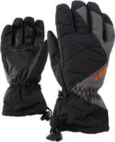 Ziener Agil AS Glove  Wintersporthandschoenen - Unisex - zwart/grijs - leeftijd in jaar: 8 - mt 5 1/2