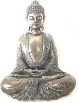 Rulai Gautama Boeddha beeld - Japanse boeddha  18x22x11cmCM Materiaal:  Resin & bronzen Electroplating bronze on the outside of the resin