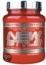 Scitec Nutrition - New Style High protein & high fiber shake Aardbei -  450 gram - 15 porties + sportandmore shaker
