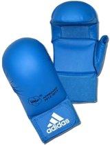 Adidas Wkf Karatehandschoenen Met Duim Blauw Maat S