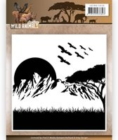 Embossing Mal  - Amy Design - Wild Animals