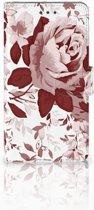 Huawei Honor 5X Uniek Boekhoesje Watercolor Flowers