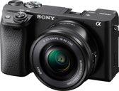 Sony A6400 + 16-50mm - Systeemcamera - Zwart