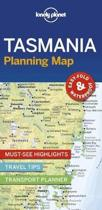 Lonely planet: tasmania planning map (1st ed)