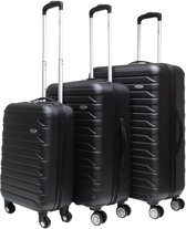 Benzi Kofferset - 3 delig - Malagon - zwart