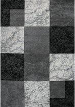 Vloerkleed - 2500 gr per m² - Infera - Grijs - 6464 - 80x150 cm - 13 mm