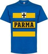 Parma Retro Stripe T-Shirt - Blauw - XXXL