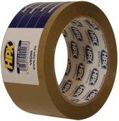 HPX verpakkingstape pp 50 mm x 66 m bruin