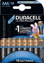 Duracell Ultra Power AAA  batterijen - 16 stuks